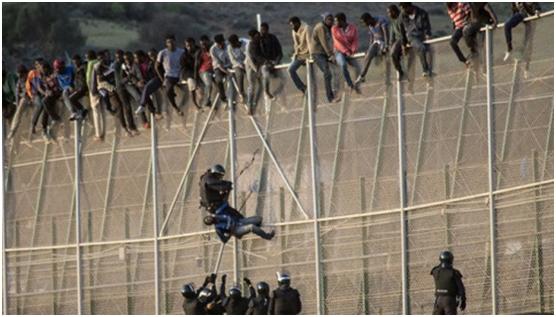 ¿Cuándo hablamos de inmigrantes pensamos en?